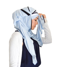 Load image into Gallery viewer, Blue Sky Hijab Set