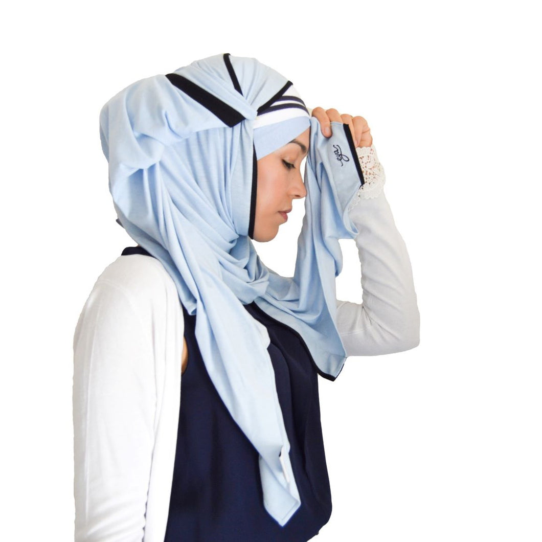 Blue Sky Hijab Set