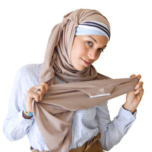 Load image into Gallery viewer, Beige Hijab Set
