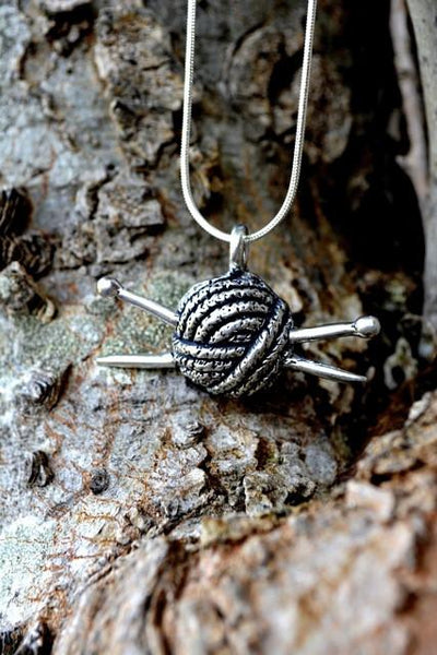 Pure Pewter Knit Jewelry
