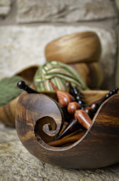 Wholesale Wooden Yarn Bowl