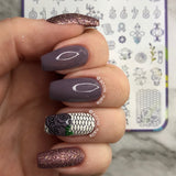 Life is a Party 2 - H la Cosedora - Nail Art Stamping Plates Polishes Kit
