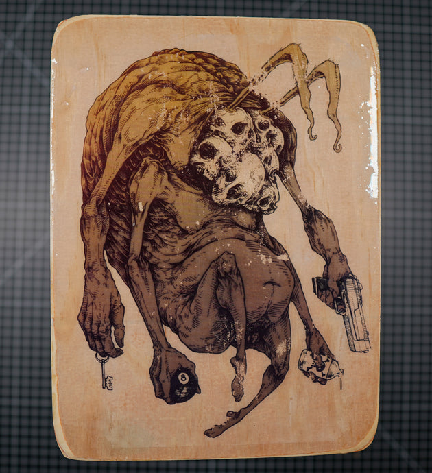 Rabbit Creep - Wood Transfer