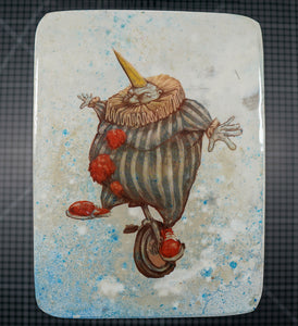 Clown Show - Wood Transfer