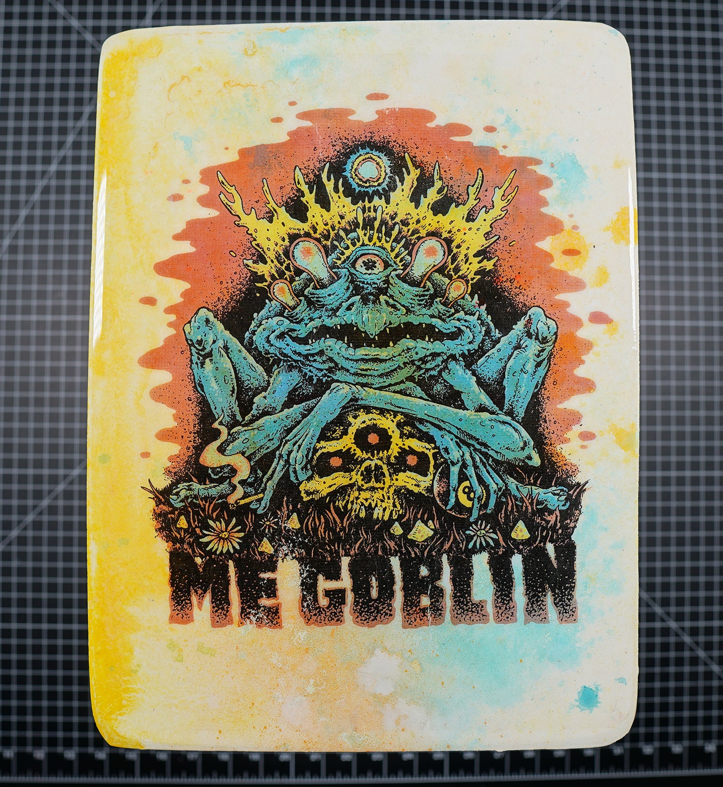 Me Goblin - Wood Transfer