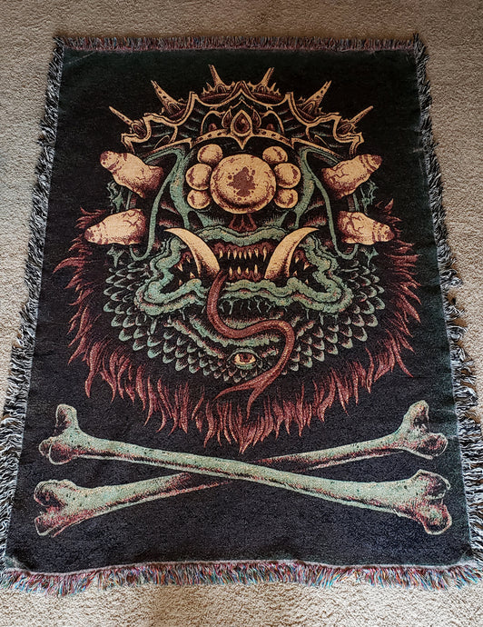 King Creep Woven Blanket