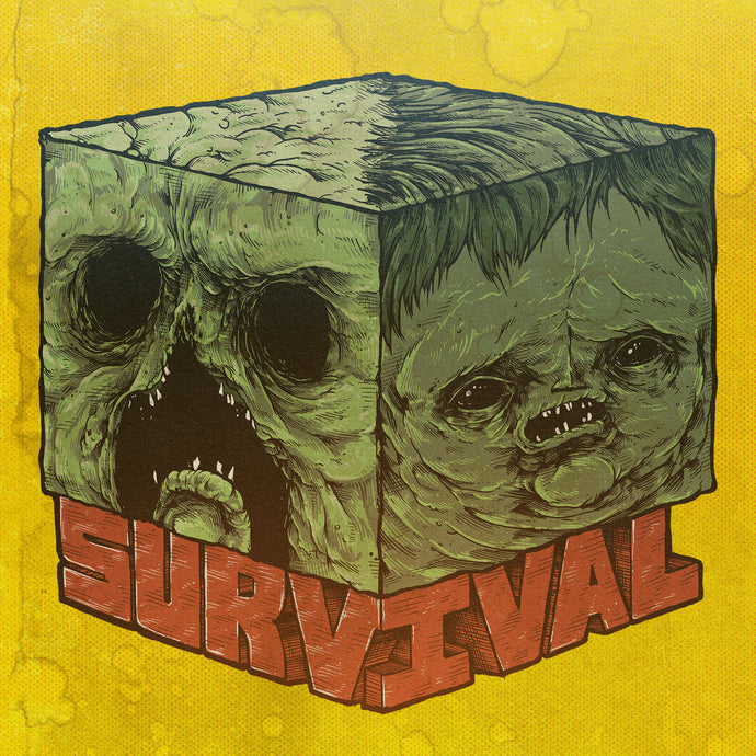 Minecraft Survival Print