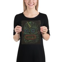 Load image into Gallery viewer, Dark Monster Face Print