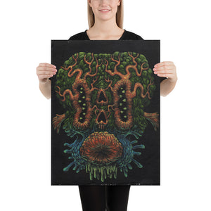Time Wizard Alien Print