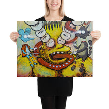 Load image into Gallery viewer, Bootleg Bart on ACID print