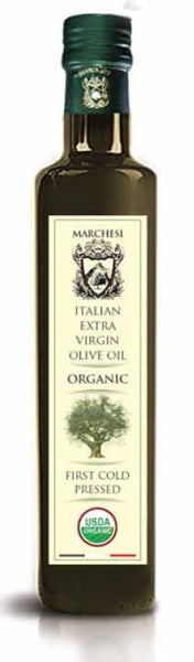 Organic - First Cold Pressed Extra Virgin Olive Oil - Marchesi