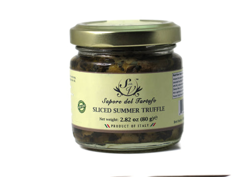 Black Summer Truffle Slices