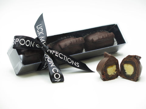 Chocolate Marzipan Bonbons - Lick My Spoon