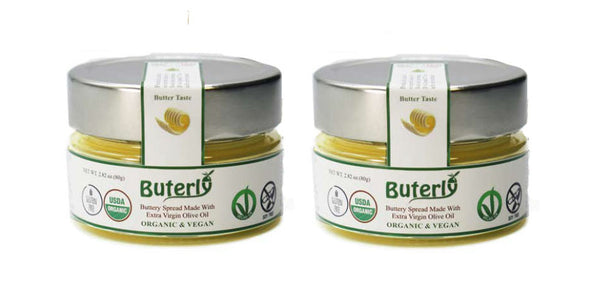 Buterly - Vegan and Organic Buttery Spread - 80 g - 2.82 oz