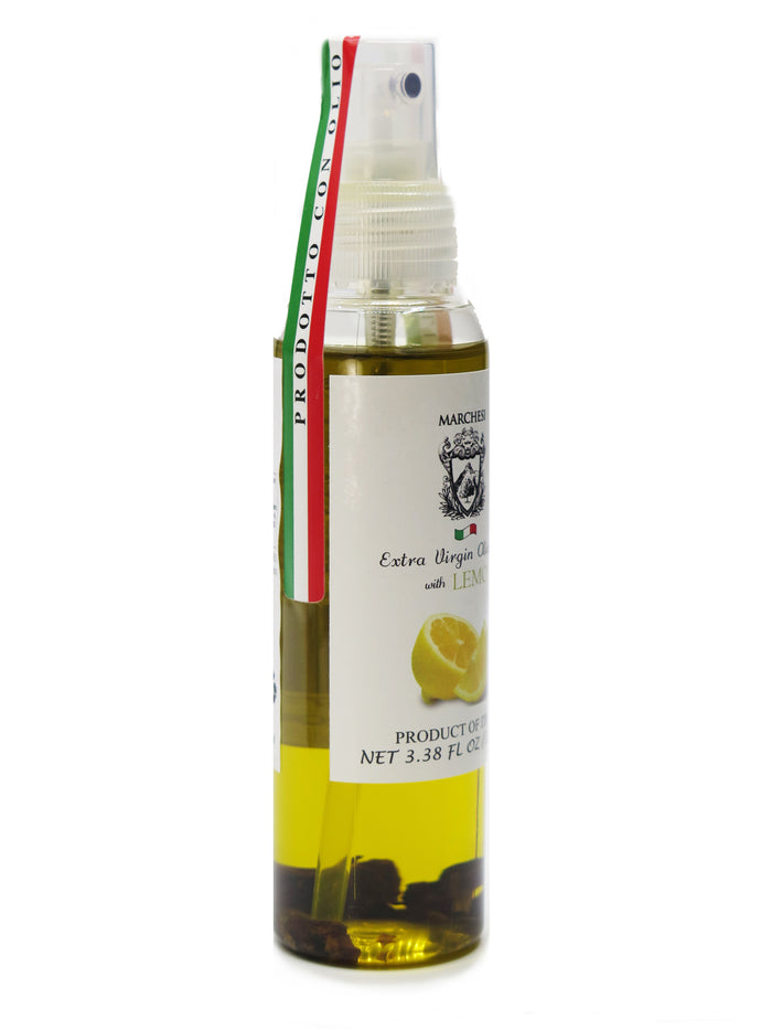 Spray Aromatic Infused First Cold Pressed Extra Virgin Olive Oil - Lemon