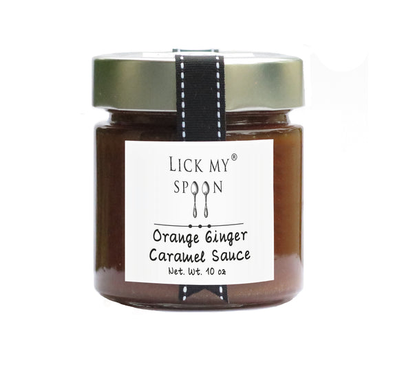 Orange Ginger Caramel Sauce