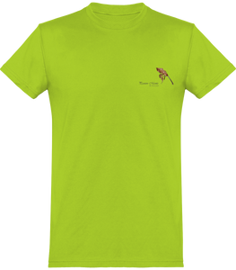 "Tee Shirt Col rond ""Passion mantes"""