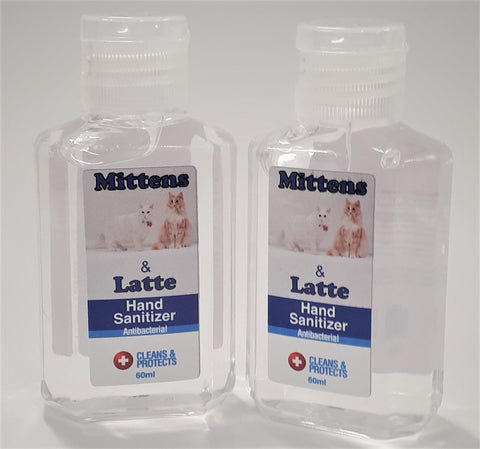 Mittens and Latte Hand Sanitiser