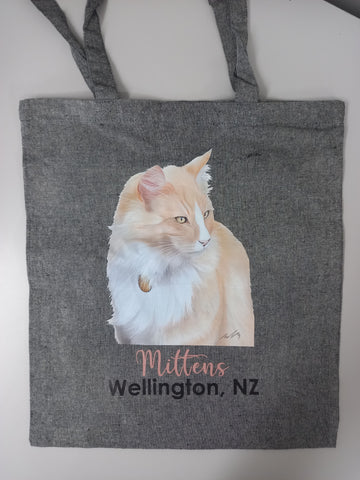 Mittens Eco Recycled Tote Bag