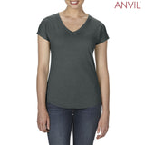 6750VL Anvil Ladies™ Tri-Blend V-Neck T-Shirt