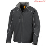 R118X Result Adult Ice Fell Hooded Softshell Jacket