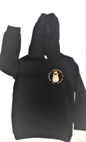 Mittens HRF Embroidered Youth Hoodies 8-12 yrs
