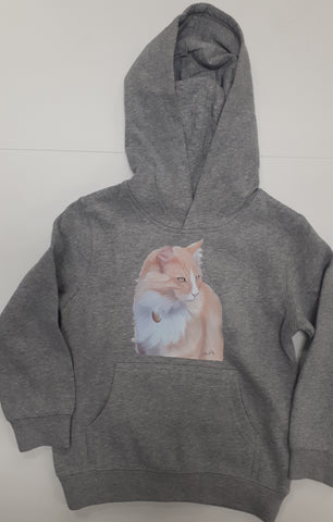 Mittens Art AS Colour Kids Hoodie 2-6 yrs