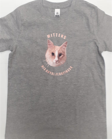 Mittens HRF Kids Tee with Supacolour Print 2-6 yrs