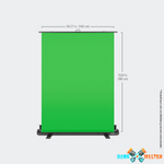 Elgato - Green Screen - Chroma-Key-Panel 148 cm x 180 cm
