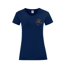 Load image into Gallery viewer, T-Shirt Woman Heart Roses