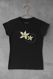 T-Shirt Vanilla Flower