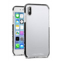 APPLE IPHONE X/XS CRUSADER LITE CASE CLEAR & BLACK