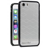 APPLE IPHONE 8/7/6S CRUSADER CASE CLEAR & BLACK