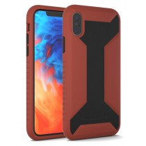 APPLE IPHONE XS WARRIOR SERIES CASE RED & BLACK