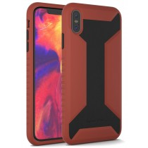 APPLE IPHONE XS MAX WARRIOR SERIES CASE RED & BLACK