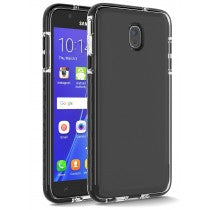 SAMSUNG GALAXY J7(2018) CRUSADER LITE CASE CLEAR & BLACK