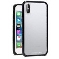 APPLE IPHONE X/XS CRUSADER CASE CLEAR & BLACK