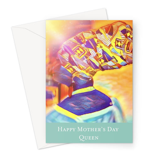 The Ohenewaa Mother's Day Greeting Card-Greeting Card-Essence of Asabea