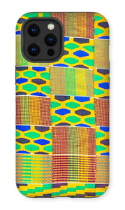 The Fatene Kente Print Phone Case