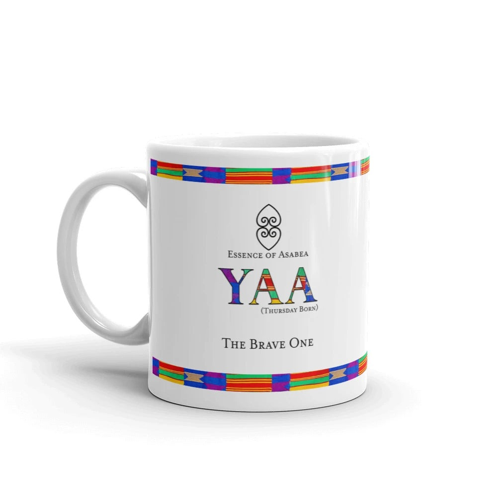 The Yaa Day Name Coffee Mug-Mug-Essence of Asabea