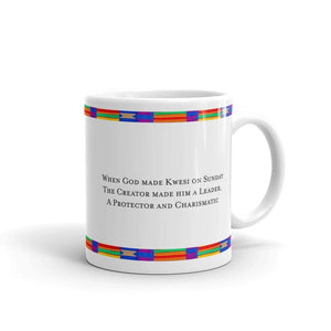 The Kwesi Day Name Coffee Mug-Mug-Essence of Asabea