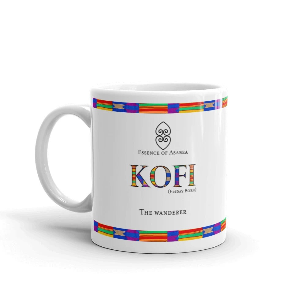 The Kofi Day Name Coffee Mug-Essence of Asabea