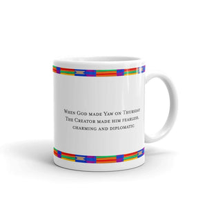 The Yaw Day Name Coffee Mug-Mug-Essence of Asabea