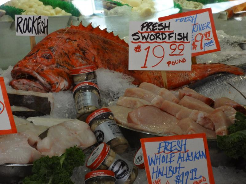 Overfishing supermarket mystery fish