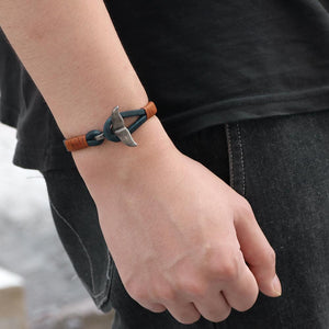 Save the Whales Jewelry | Luxury Leather Whale Tail Bracelet-seaxox.com