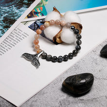 Load image into Gallery viewer, Save the Whales Jewelry | Stone Save the Whales Bracelet-seaxox.com