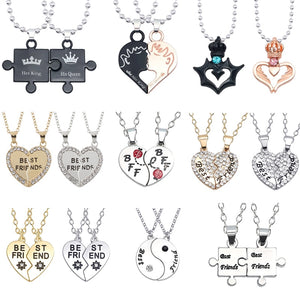 Ocean Charity Jewelry SEABFF Friendship Necklace Sets 17 Styles-seaxox.com