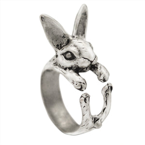 Antiqued Rabbit Owl Fish Animal Dog Cat Deer Adjustable Cute Knuckle Rings 54 STYLES