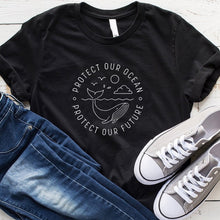 Load image into Gallery viewer, Save the Ocean Tshirts | Protect the Ocean TShirts