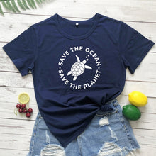Load image into Gallery viewer, Save the Ocean Tshirts | Save The Ocean Tees-seaxox.com